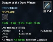 Dagger of the Deep Waters
