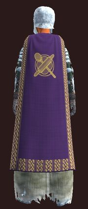 Formal Cloak of the Provisioner worn