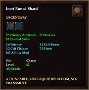 Inert Runed Shard