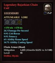 Legendary Rujarkian Chain Coif