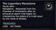The Legendary Manastone