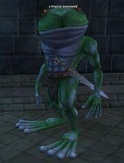 A froglok mercenary