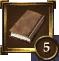 Achievement Icon brown book 5