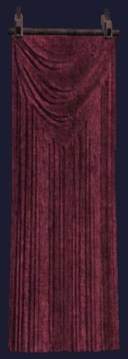 Crimson fire tapestry visible