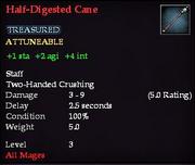 Half-Digested Cane