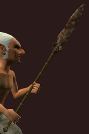 Imbued Iron Great Spear (Equipped)