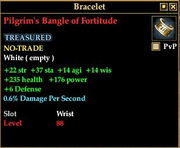Pilgrim's Bangle of Fortitude