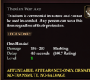 Thexian War Axe