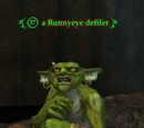 A Runnyeye defiler
