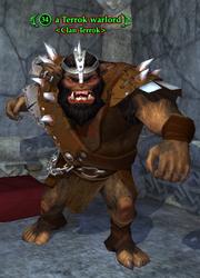 A Terrok warlord