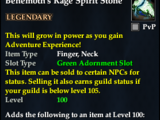 Behemoth's Rage Spirit Stone