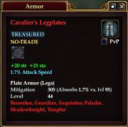Cavalier's Legplates