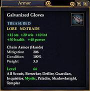 Galvanized Gloves