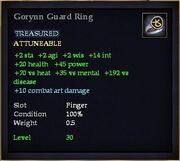 Gorynn Guard Ring