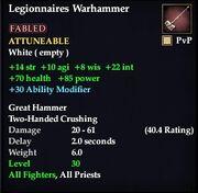Legionnaires Warhammer