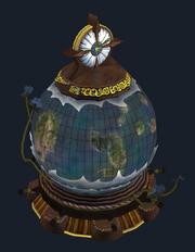 Rotating Globe of the Far Seas Trading Company (Visible)