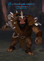 A Terrok gate enforcer