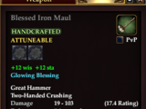 Blessed Iron Maul