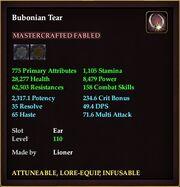 Bubonian Tear