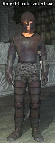 Knight-Lieutenant Alesso
