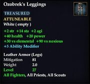 Ozobrek's Leggings