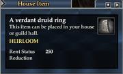A verdant druid ring