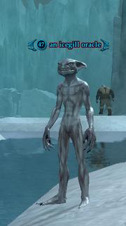 An icegill oracle