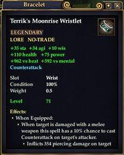 Terrik's Moonrise Wristlet