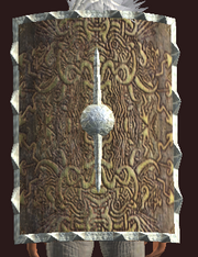Tower Shield of Might (Equipped)