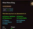 Wind Worn Ring