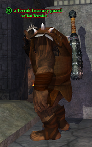 A Terrok treasury guard