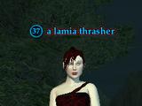 A lamia thrasher