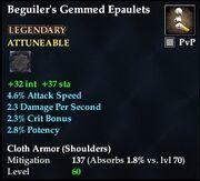 Beguiler's Gemmed Epaulets