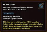 Di'Zok Claw