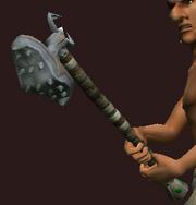Iron War Maul (Equipped)