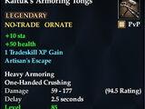 Kaltuk's Armoring Tongs