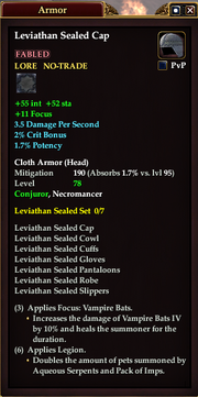 Leviathan Sealed Cap
