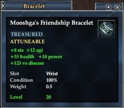 Mooshga's Friendship Bracelet