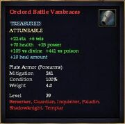 Orclord Battle Vambraces