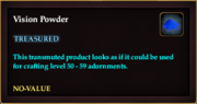 Vision Powder