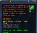 Vowbreaker, Sword of Singeing (Weapon)