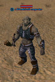 A Bloodskull carpenter