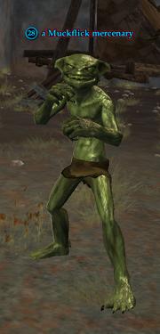 A Muckflick mercenary