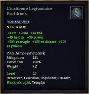 Crushbone Legionnaire Pauldrons