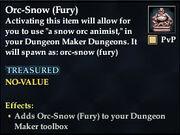 Orc-Snow (Fury)