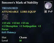 Sorcerer's Mark of Nobility