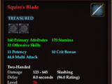 Squire's Blade (Level 76)