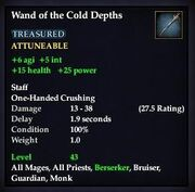 Wand of the Cold Depths