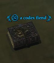 A codex fiend