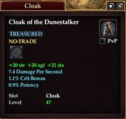 Cloak of the Dunestalker